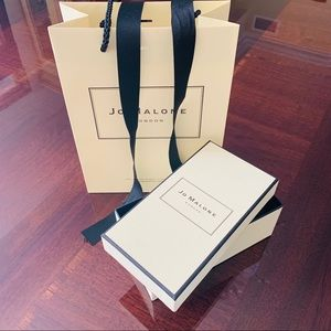 Jo Malone Shopping Paper Bag & Box